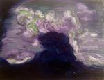 Dark Head, 2014, oil on canvas, 11x14 inches PRIVATE COLLECTION