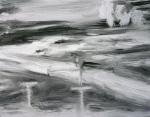 FLIR 2, 2011, oil/canvas, 11x14 inches