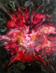 Glory, 2012, oil/canvas, 26x22 inches
