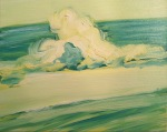 Wave, 2014, oil on canvas, 16x24 inches