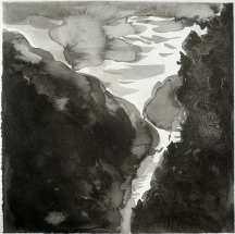 TGP_025 (2008) Sumi ink on paper. 11 x 14 inches (paper size)