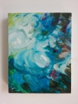 Blue, 2012, oil on canvas, 14 x 11 inches PRIVATE COLLECTION