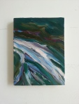 Floe, 2012, oil on canvas, 12 x 9 inches. PRIVATE COLLECTION