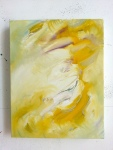 Yellow Flow, 2012, oil on canvas, 14 x 11 inches PRIVATE COLLECTION