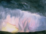 Storm, 2006, oil on canvas, 60x78 inches