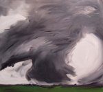 Strange Weather (9), 2005, oil on canvas, 26x30 inches