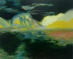 Lemon Mountains, 2015, oil on canvas, 16x20 inches