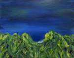 Big Rock Candy Mountain, 2015, oil on canvas, 16x20 inches