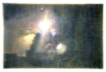 Stephen Andrews: Untitled, 2005 crayon rubbing, mylar, 24x19