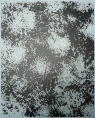 13-Big Burst 14, 2011, Japanese ink on vellum 17x14 inches