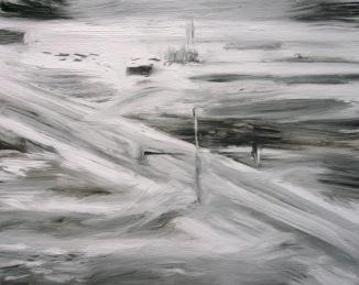 FLIR 1 (2011) 11x14 inches, oil on canvas