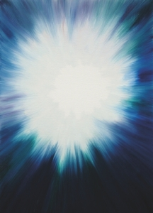 "Joy Garnett, ""Poof (2)"" (2010), oil on canvas, 91 x 60 cm (courtesy private collection, US)"