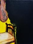 Drape, 2016, oil on canvas, 12x9 inches